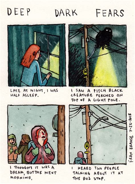 Meme Base After Dark - deep dark fears the comic where every day anxiety and