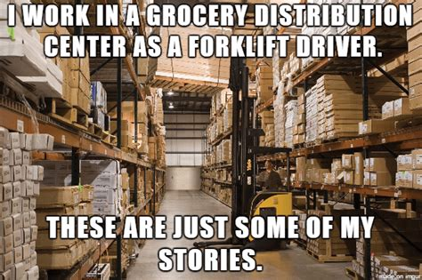 Warehouse Meme - work in distribution center meme