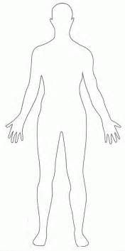 Outline Of A Person Coloring Page by Outline Of Person Coloring Page Coloring Home