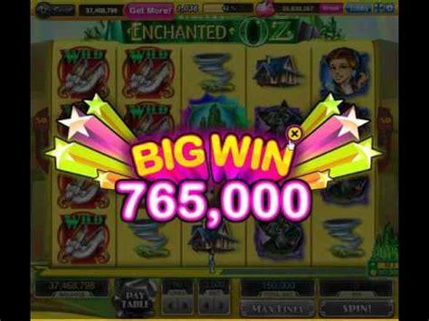 Voucher Play 150k 150000 1 bonus mega big win on enchated oz 150k bets slotomania