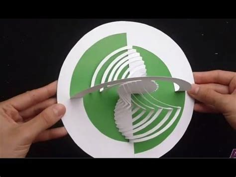 kirigami magic spinning card template 06 how to make an amazing pop up card tutorial paper