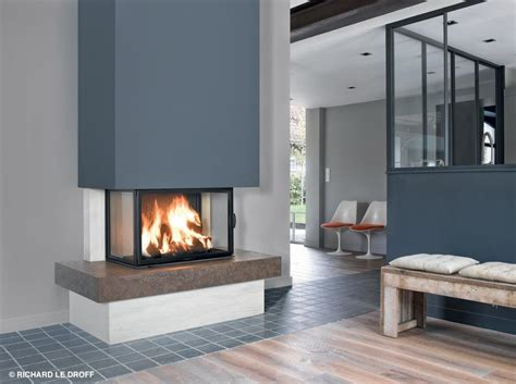 cheminee foyer ferme chemin 233 e po 234 le 224 bois installateurs qualibois is 232 re rh 244 ne