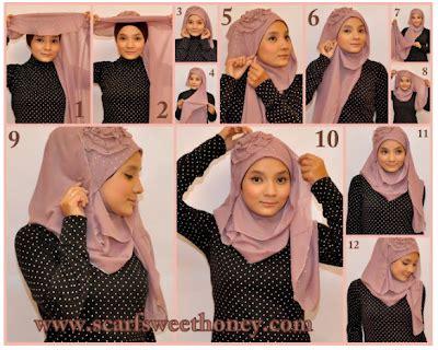 tutorial jilbab pashmina selendang cara pakai pashmina jilbab selendang pictures hot girls