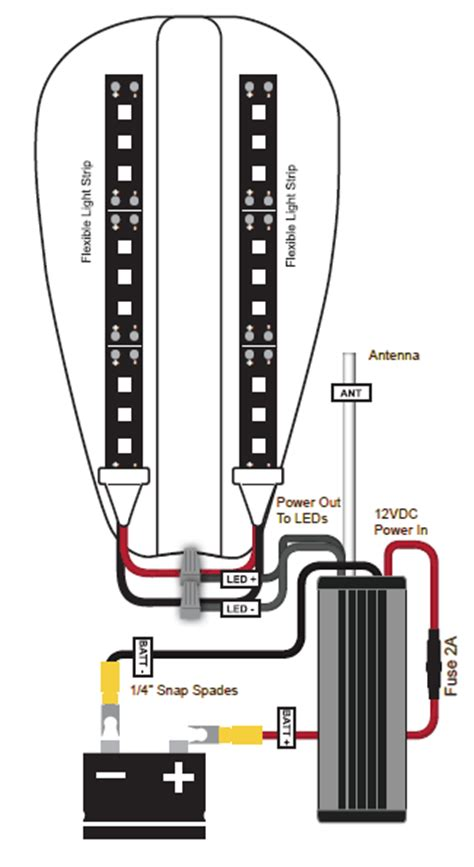led wiring diagram lights on a motorcycle wiring