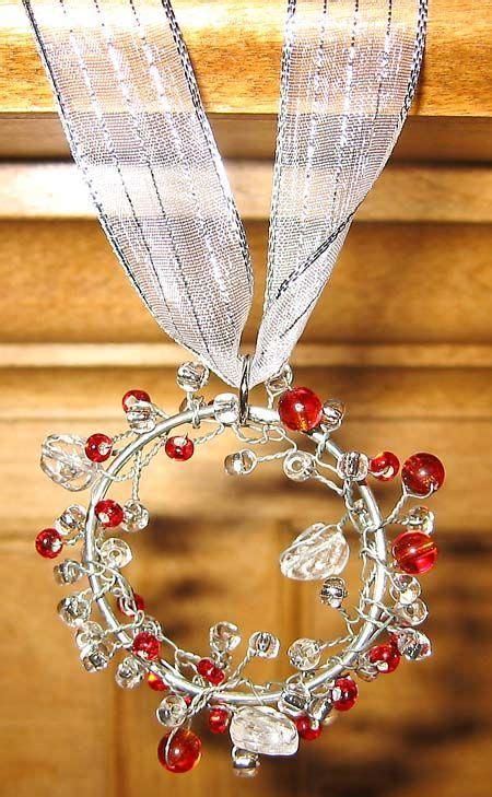 diy beaded ornaments best 25 wire ornaments ideas on diy wire