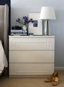 White Three Drawer Nightstand Home Dzine Home Diy Make Your Own Ikea Furniture