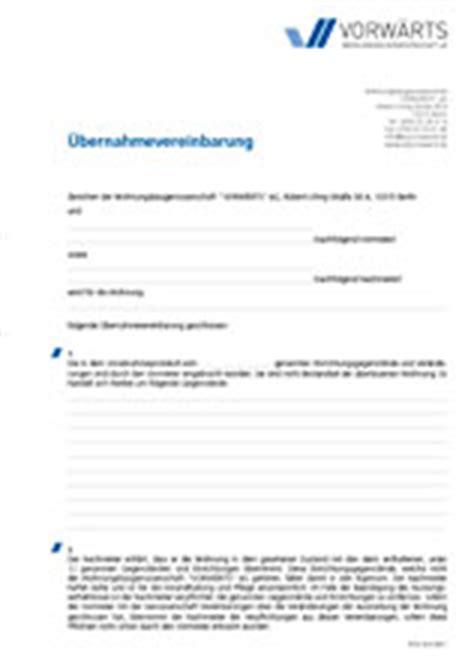 Kündigung Muster Wohnung Mit Nachmieter Dokumentendownload Wohnungsbaugenossenschaft Vorw 196 Rts Eg Citynah Und G 252 Nstig