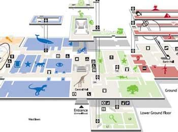 natural history museum floor plan museum plan and maps for the major london museums