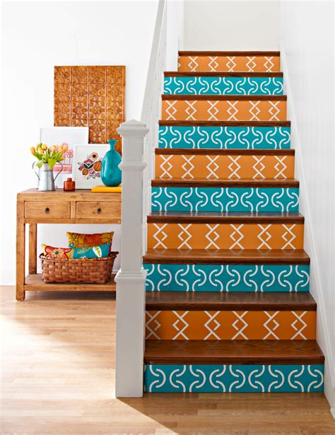 diy decorating with books how about orange 25 brilliant ways to decorate your stairs brit co