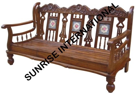 furniture wooden sofa sunrise international wooden sofa sets l shade sofa set