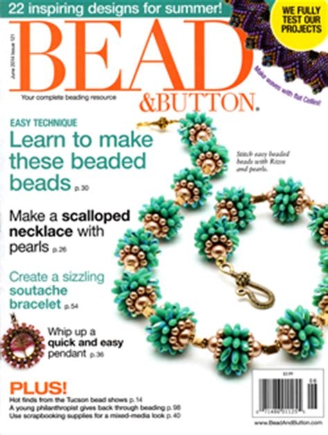 bead and button magazine published work kerrie slade