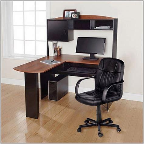 bush furniture cabot l shaped desk bush furniture cabot l shaped computer desk with hutch