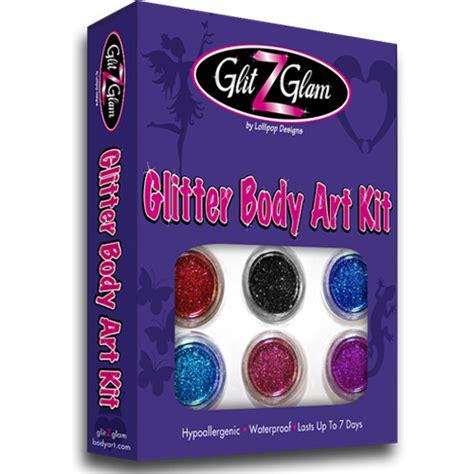 glitter tattoos kits glitter temporary kit by glitzglam