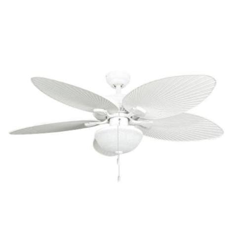Outdoor Ceiling Fans At Home Depot by Fans Tortola 52 In White Outdoor Ceiling Fan 10062