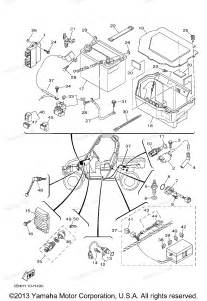 yamaha atv parts 2011 rhino 700 yxr7fha electrical 1 diagram