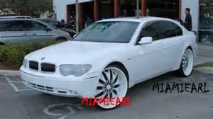 All White Bmw C2c Customs Bmw 745 On 26 Quot Kurv S All White 954 327 1900