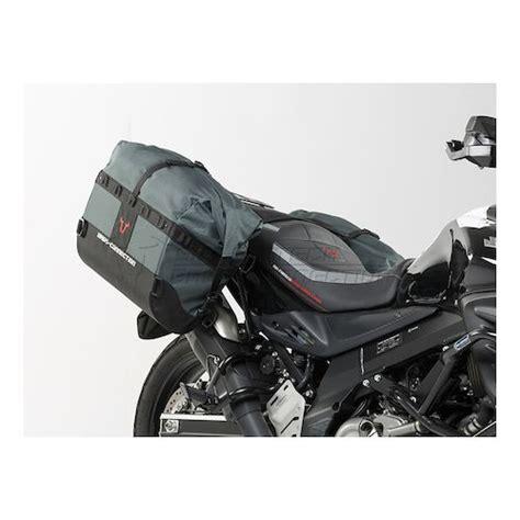 Suzuki V Strom 650 Saddlebags Sw Motech Dakar Waterproof Soft Saddlebags And Mounts
