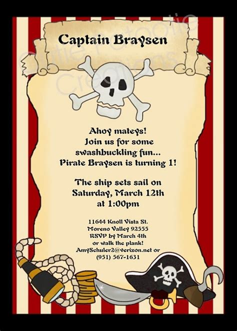 printable birthday invitations pirate browse our large collection of pirates invitations