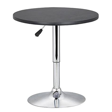 Adjustable Kitchen Table Topeakmart Pub Table Adjustable 360 Swivel Bar Table Buy In Uae Products In