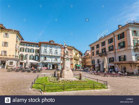 intra italien piazza ranzoni in intra at lago maggiore verbano italy