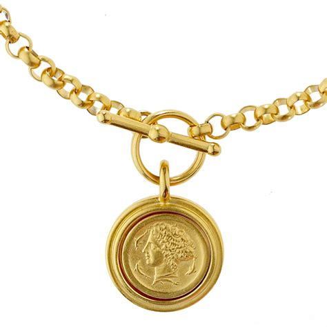 arethusa coin necklace the met store