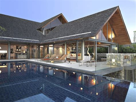 modern thai house plans home design and style modern luxurious retreat ocean front dream house in