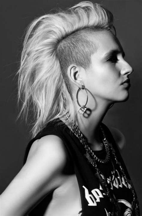 mohawk hairstyles ll eaving hair long at back of head best 25 mohawk hairstyles men ideas on pinterest mohawk