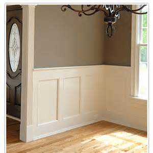 How To Put Wainscoting On Walls Paneling House On Post Oak