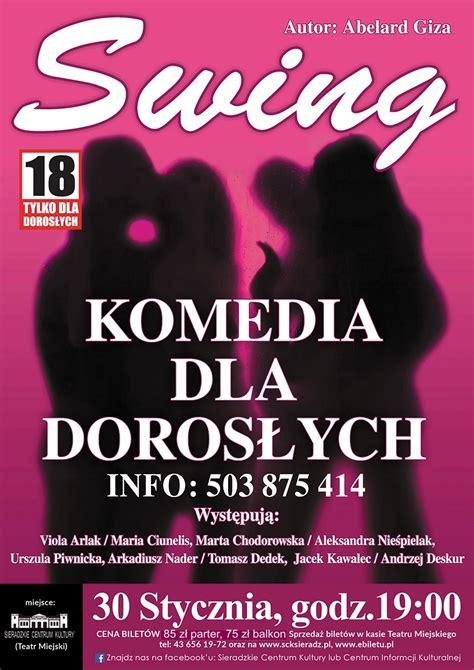 Swing Plakat by Spektakl Quot Swing Quot Sieradzkie Centrum Kultury
