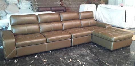 china modern leisure genuine leather sofa md8035