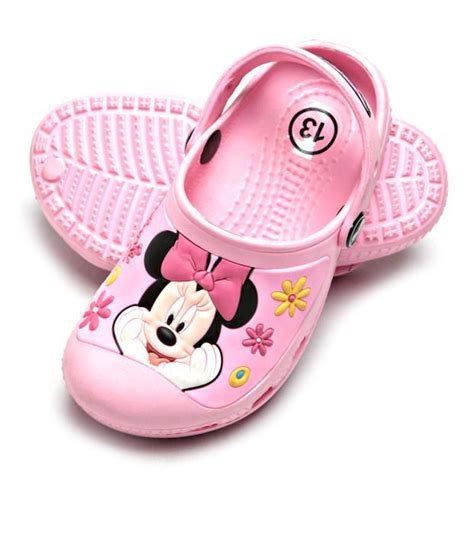 disney minnie mouse pink clog shoes for price in