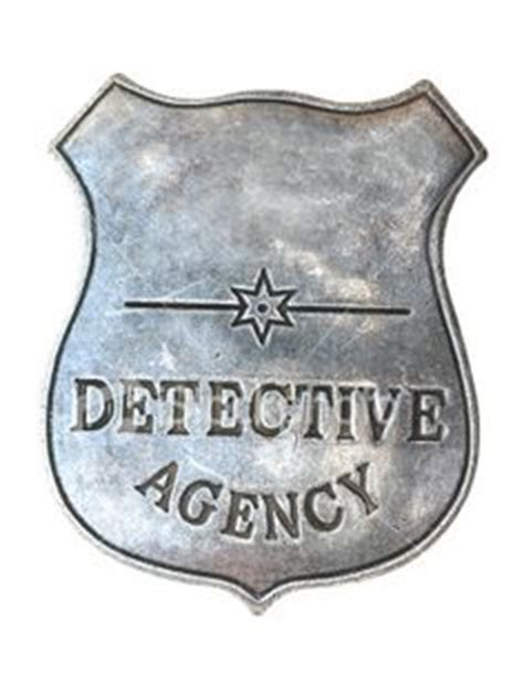 Detective Badge Detective Badge Template