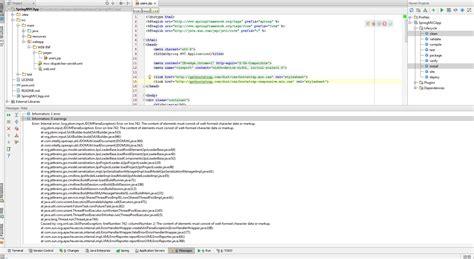 tutorial java spring mvc intellij spring mvc tutorial deployment