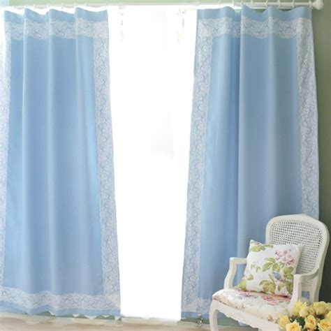 curtains with blue blue solid curtain blue curtain panels with lace