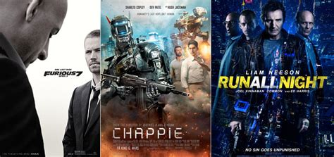 run all night movie 2015 new posters for furious 7 run all night chappie