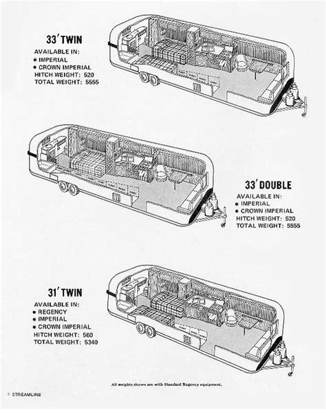 index of travel trailer streamline floorplans