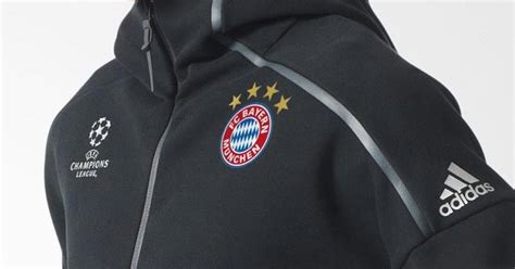 Jaket Hoodie Atletico Madrid Jaket Football Team bayern munich 2016 17 chions league anthem zne hoodie