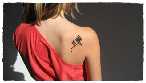 what does a rose tattoo represent 35 flower tattoos and what they