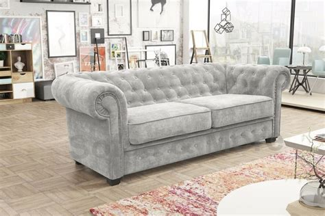 Chesterfield Fabric Sofa Bed by Venus Chesterfield Style 3 Seater Sofa Bed Armchair Fabric