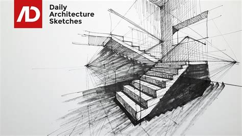 make architectural drawings how to draw stairs in two point perspective daily