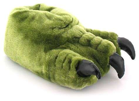 foot slippers claw mens gents novelty slippers with claws to front ideal