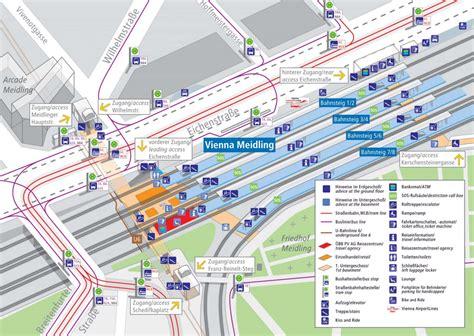 Airport Terminal Floor Plans by Bahnhof Wien Meidling