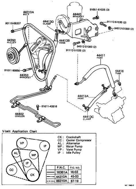 toyota land cruiser bj kc powertrain chassis power