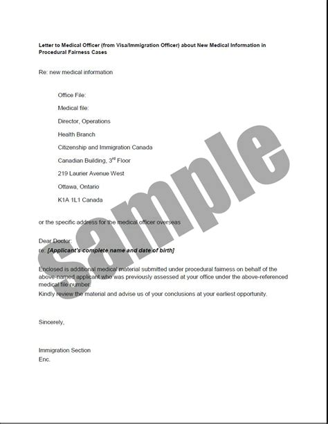 Justification Letter H1b Health Related Forms Documents And Templates