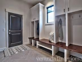 Veranda Interiors by Mudroom Lockers Contemporary Laundry Room Veranda