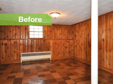 painted wood walls knotty to nice painted wood paneling lightens a room s look