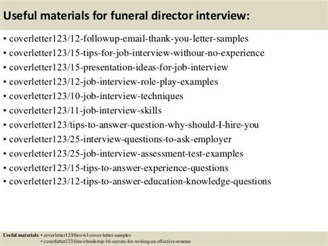 cover letter for funeral assistant top 5 funeral director cover letter sles
