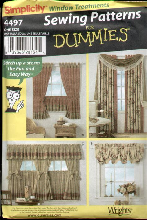 Window Treatment Patterns by Sewing Patterns Window Treatments 171 Free Patterns