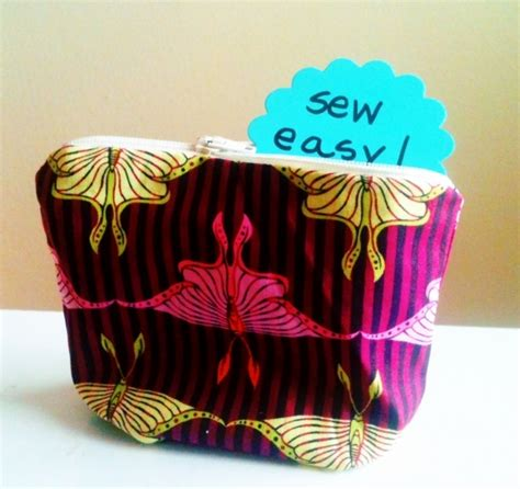 free pattern lined zippered pouch lined zipper pouch sewing tutorial favorites pinterest