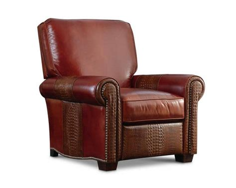 Reclining Back Chair by Leathercraft Robinson High Back Recliner 2677h